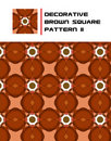 Free Decorative Brown Square Pattern II Stock Images - 15723774