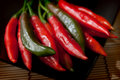 Free Red Peppers Royalty Free Stock Images - 15725429