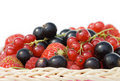 Free Ripe Berries In A Basket Stock Photo - 15727960