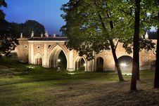 Free Park Tsaritsino. Old Bridge Stock Photography - 15720172