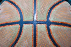 Basketball Pattern Royalty Free Stock Photos