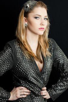 Free Beautiful Fashioned Woman Stock Image - 15720731