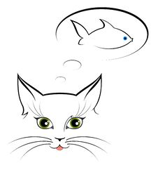 Free Image Of Cat Eyes Royalty Free Stock Photography - 15722007