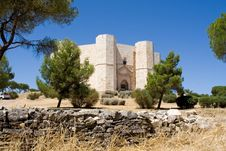 Free Castel Del Monte Royalty Free Stock Image - 15722316