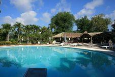 Free Swimming Pool Resort Royalty Free Stock Photography - 15722537