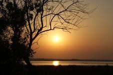 Free Sunrise On The Lake Royalty Free Stock Photo - 15722695