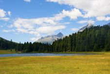 Free Alpine Lake Royalty Free Stock Image - 15722836