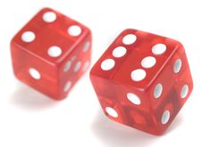 Free Two Dices Royalty Free Stock Image - 15723386