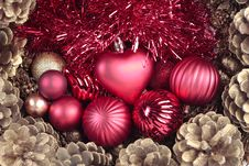 Free Christmas Decorations Closeup Royalty Free Stock Image - 15723716