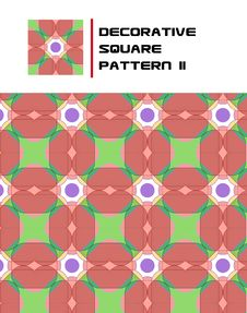 Free Decorative Square Pattern II Royalty Free Stock Photos - 15723798