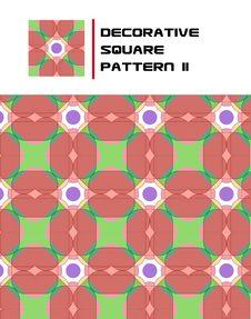 Free Decorative Square Pattern II Royalty Free Stock Photos - 15723798