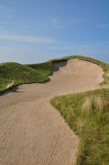 Steep Bunker Royalty Free Stock Photo