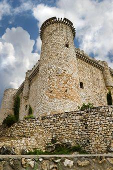 Torija´s Castle In Spain Royalty Free Stock Image