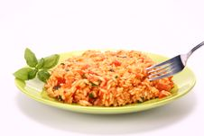 Free Risotto With Tomatoes Royalty Free Stock Photography - 15726427