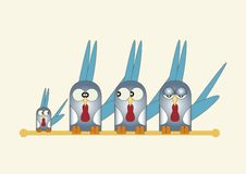 Free Cartoon Birds Royalty Free Stock Image - 15726666