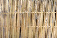 Free Bamboo Wall Royalty Free Stock Photography - 15726717