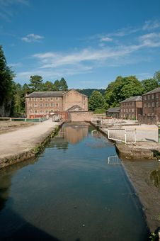 Free Portrait Of A Derbyshire Mill Stock Photography - 15726902