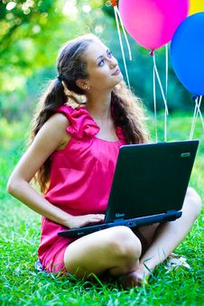 Free Girl With Notebook Stock Photos - 15727113