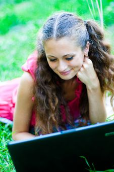 Free Girl With Notebook Stock Images - 15727154