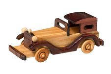 Free Wooden Toy Car Royalty Free Stock Photo - 15727915