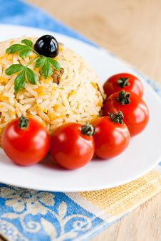 Free Traditional Pilaf Royalty Free Stock Image - 15728636