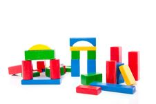 Free Wooden Play Blocks Stock Photography - 15728772