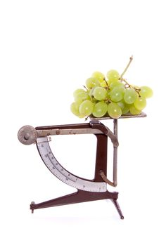 Free White Grapes Royalty Free Stock Photos - 15728878
