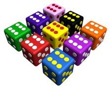 Free Playing Dices Royalty Free Stock Photo - 15729185