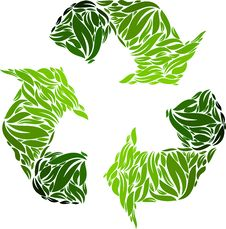 Free Recyclin Symbol Royalty Free Stock Photo - 15729685