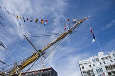 Free Sail Amsterdam 1 Royalty Free Stock Images - 15729919