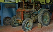 Free Rusty Old    Tractor Royalty Free Stock Image - 15730116