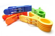 Free Clothes Pegs Royalty Free Stock Photography - 15730997