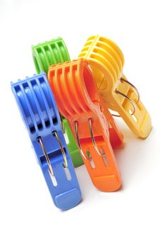 Free Clothes Pegs Royalty Free Stock Photography - 15731007
