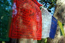 Free Tibetian Prayer Flags Royalty Free Stock Photos - 15731368