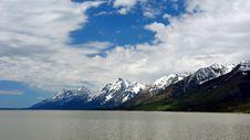 Free The Grand Teton Range Stock Photography - 15731842