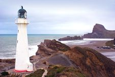 Free Castlepoint Lighthouse Stock Photography - 15733962