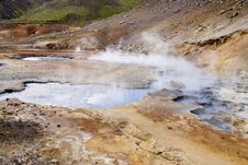 Free Geothermal Area, Colorful Landscape - Iceland Stock Image - 15734021
