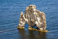 Free Hvitserkur Formation In Iceland Stock Image - 15734121