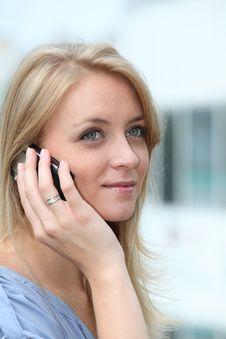 Free Beautiful Blond Woman Royalty Free Stock Photography - 15734307