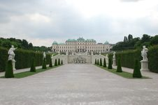 Free Belvedere Palace Royalty Free Stock Images - 15734549