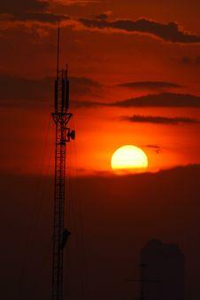 Free Communication Antenna Royalty Free Stock Image - 15734606