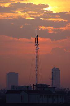Free Communication Antenna Stock Photography - 15734672