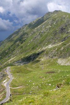 Free High Mountain Road Stock Photo - 15734950