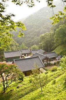 Free Korea Temple Stock Photos - 15736093