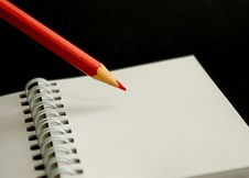 Free Red Pencil Stock Photography - 15736222