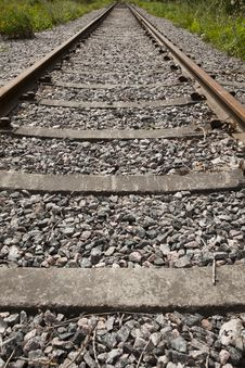 Free Railroad Track Stock Photo - 15736530
