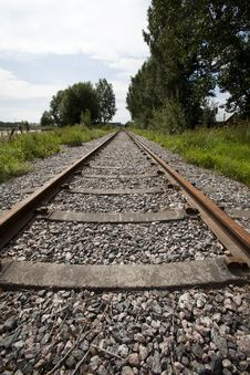 Free Railroad Track Stock Images - 15736584