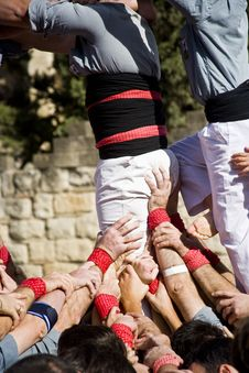 Free Castellers Stock Images - 15736674
