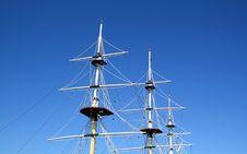 Free Ship Mast Royalty Free Stock Image - 15737296