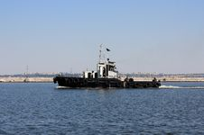 Free Moving Tugboat Stock Images - 15737374